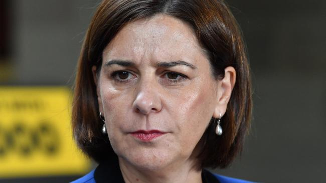 Queensland LNP leader Deb Frecklington says she was not aware of the tweet but will investigate. File picture