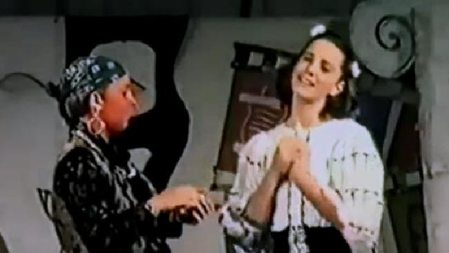 Kate Middleton's 1995 school play.