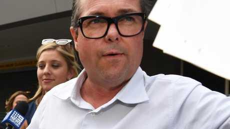 Richard Marlborough will face court again today. (AAP Image/Dan Peled)
