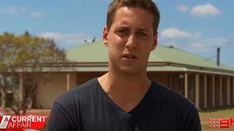 """""""This can be fixed tomorrow,"""" Jarrod Sansom told A Current Affair. Picture: Channel 9"""