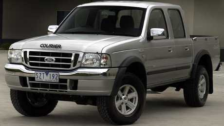 The Ford Courier ute (2004-2006, pictured) is part of the Takata airbag recall campaign. Picture: Supplied.