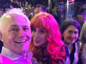 Cher 'so sorry' for Mardi Gras selfie