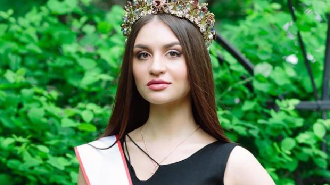 Russian beauty queen Ksenia Starikova, pictured, allegedly masterminded the plot to sell a teenager into sex slavery. Picture: Facebook