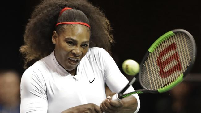 Serena Williams still plans on being the yardstick in women's tennis.
