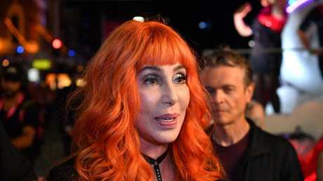 Cher apologised for the picture on Twitter. Picture: AAP Image/Joel Carrett.
