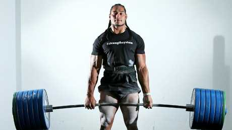 Tanginoa could challenge Martin Taupau as league's strongest man.