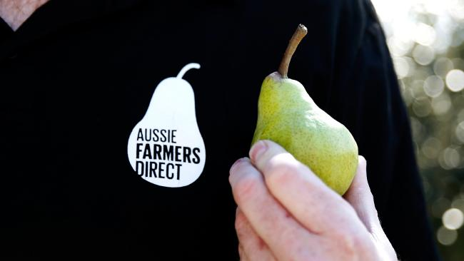 Aussie Farmers Direct has been accused of moving too far away from its simple promise of fresh food. Picture: Chloe Smith.
