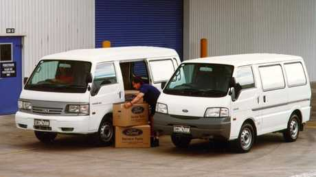 Do you own a Ford Econovan (2004-2005 model, pictured)? Take it to a Ford dealer to get the airbag replaced. Picture: Supplied.