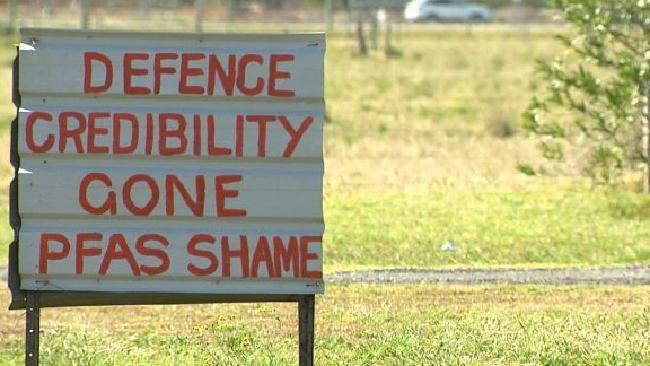 Williamtown residents lay the blame squarely at the feet of the Department of Defence. Picture: ABC/Four Corners