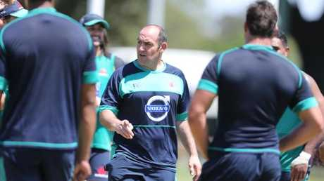 Former Waratahs and Wallabies forwards coach Mario Ledesma. Picture: Adam Taylor