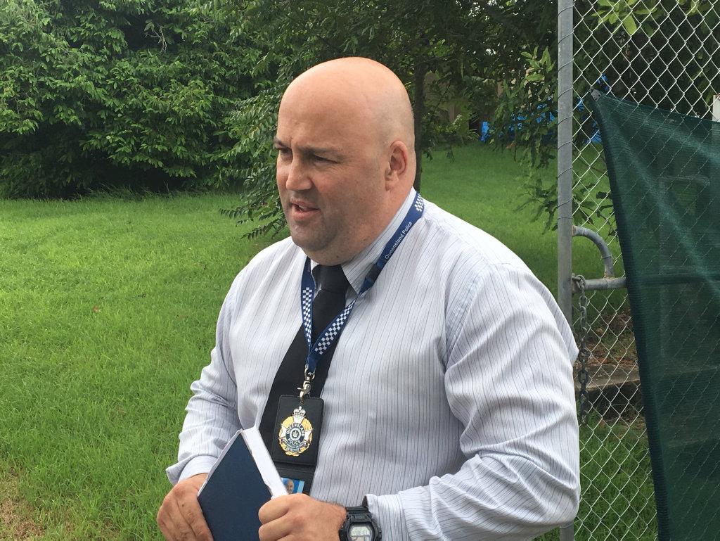 Gladstone Police senior sergeant Tony Andersen.