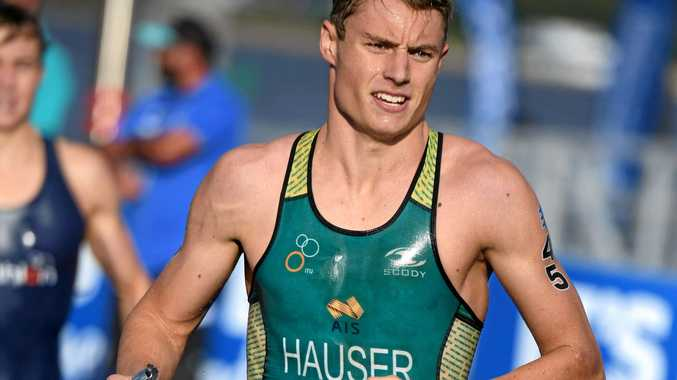 TRI TIME: Matthew Hauser is keen to put his Commonwealth Games preparations to the test at Mooloolaba.