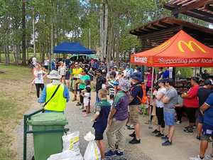 Record numbers for clean-up day