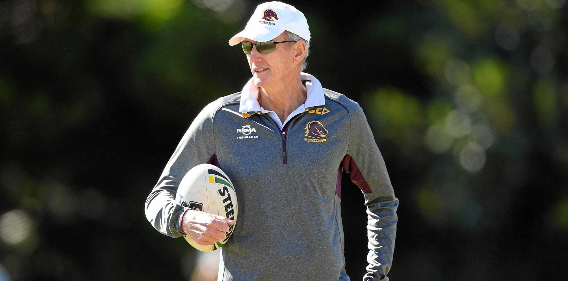 Wayne Bennett will be looking to end the Broncos' title drought.