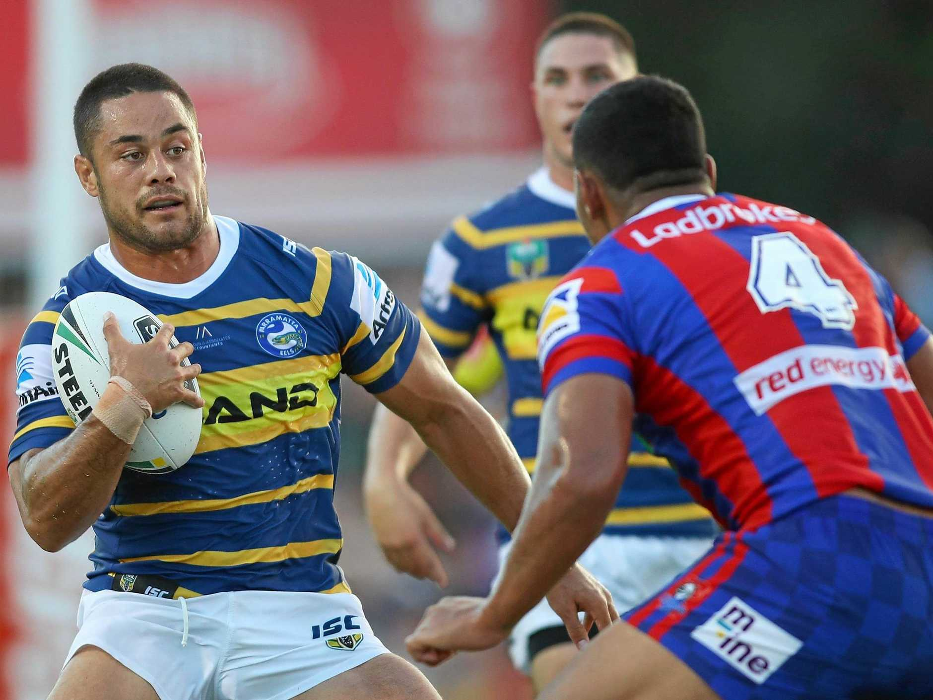 Jarryd Hayne will be the centre of attention at the Eels.