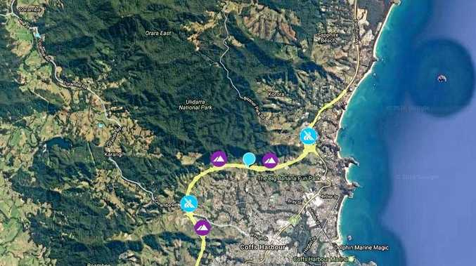 COFFS BYPASS: Roads and Maritime Services has released an interactive map showing the proposed route for the Coffs Harbour Pacific Highway Bypass.