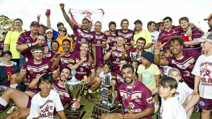 Dalby celebrates its 2017 TRL grand final win over Pittsworth as it prepares for its title defence from next weekend.