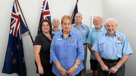 The Returned & Services League opened a new branch at North Ipswich on Wednesday. The board.