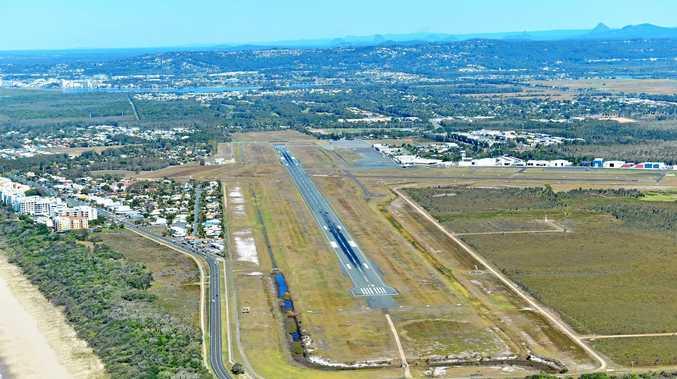 Sunshine Coast Airport.