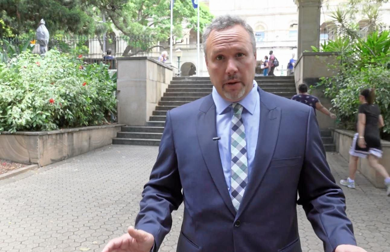 One Nation member for Mirani Stephen Andrew made friends in his first week in Parliament.