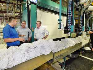 30 jobs created through linen service upgrade