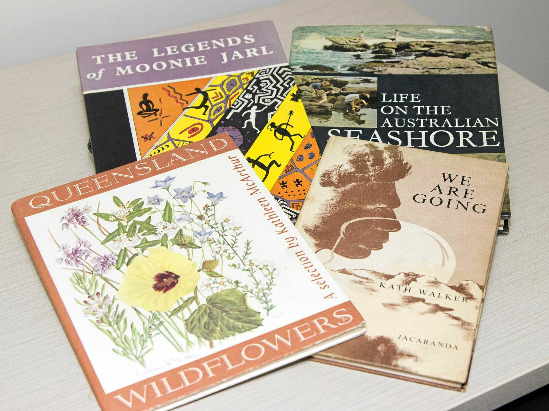 JOURNEY INTO LITERATURE: These four books will feature in a series of library talks across the Fraser Coast from next week.