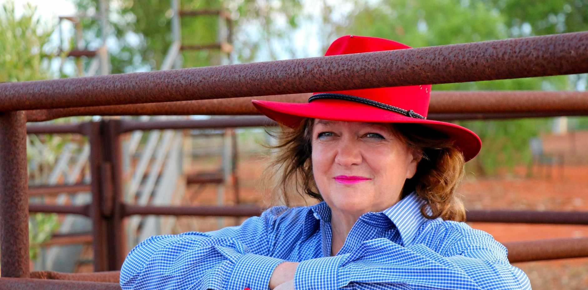 Gina Rinehart came third on the list.