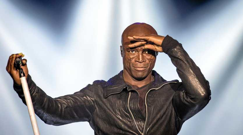 HEADLINER: British soul and R&B singer Henry Olusegun Olumide Adeola Samuel, known as Seal, performs during his concert at the Centennial Hall in Wroclaw, Poland, 2012.