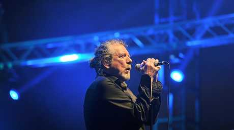 Robert Plant at Byron Bay Blues Festival 2013 Photo Mireille Merlet-Shaw / The Northern Star