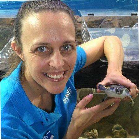 INSPIRATION: Kate Willson, Displays Curator at Sea Life Sunshine Coast.