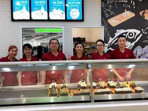 Etup Rocky! 'Best sushi in town' hits Stockland