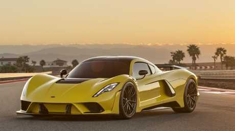 The Hennessey Venom GT 5 has been built to break speed records. Pic: Supplied.
