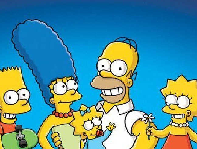 The Simpsons created a word that is now in the dictionary. Picture: Supplied