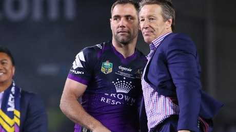 Cameron Smith and Craig Bellamy are big influences on Cameron Munster.