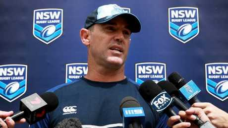 Brad Fittler is pleased with what he is seeing from NSW Origin hopefuls.