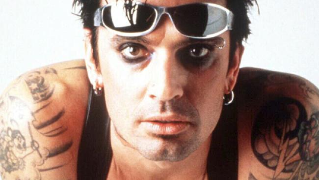 Musician Tommy Lee, drummer for band Motley Crue.  Picture:  Supplied