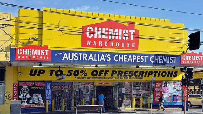 Chemist Warehouse is offering sick notes for a $20 fee.