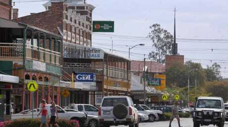 The town of Roma is the main urban centre of the Maranoa region. Picture: David Martinelli.