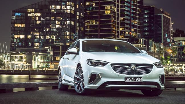 The new imported Commodore will come with a seven-year warranty in March as Holden tries to reverse a dramatic sales slide in February. Picture: Supplied.