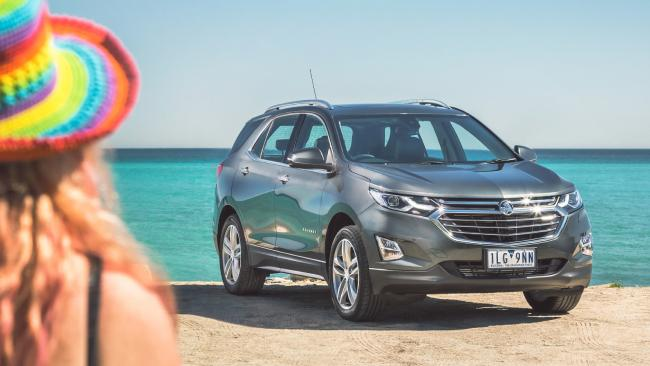 The Equinox also gets a seven-year warranty in March to help get buyers behind the wheel. Picture: Supplied.