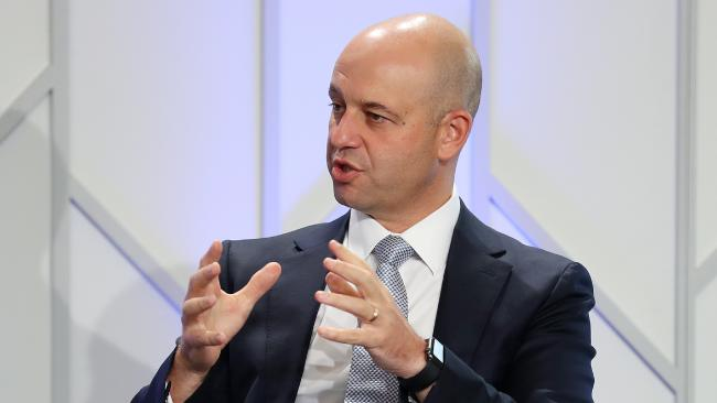 NRL CEO Todd Greenberg had to defend his decision. (Liam Kidston)