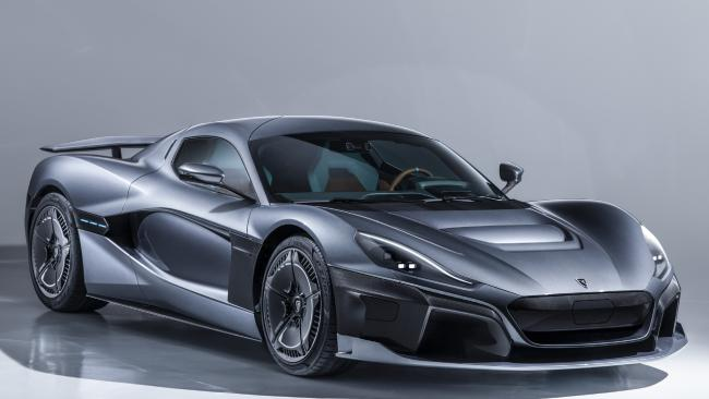 The Rimac C_Two claimed blistering performance numbers at the 2018 Geneva motor show. Pic: Supplied.