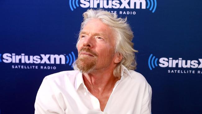 Sir Richard Branson wasn't much chop at school — but he's now worth billions. Picture: Astrid Stawiarz/Getty Images