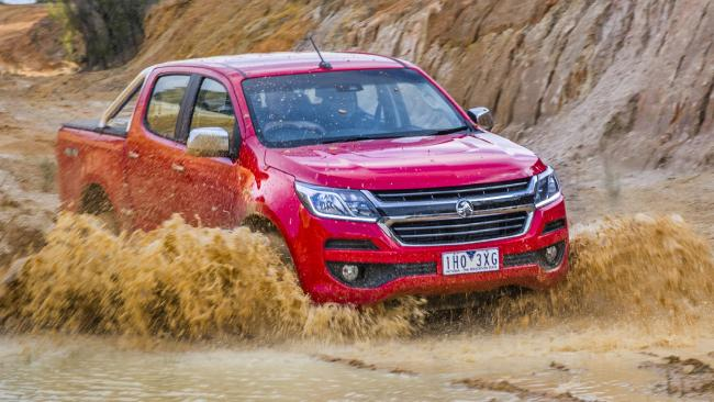 Hoping to make a splash ... the Colorado hasn't met sales expectations, so this month it gets a five-year warranty and three years free servicing. Picture: Supplied.