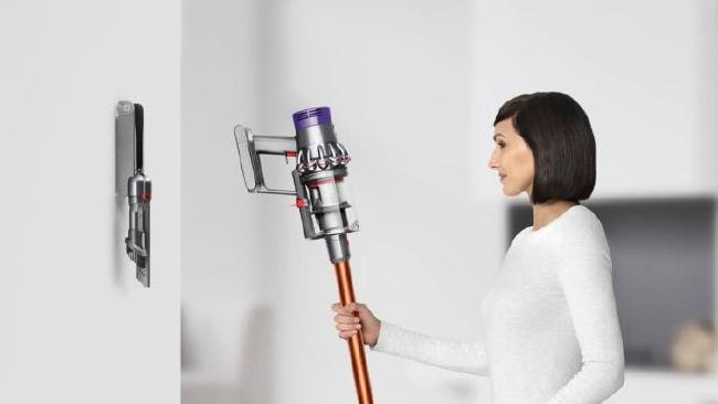 Dyson's new cord-free top-of-the-range stick model the V10. Picture: Dyson