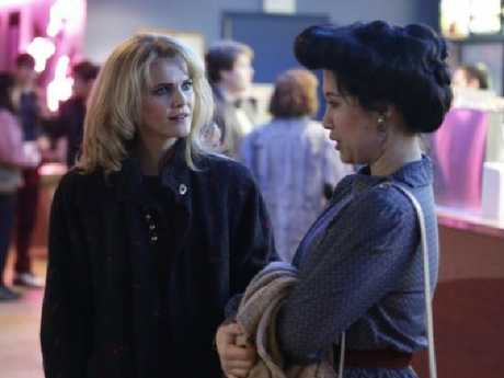 Ruthie Ann Miles, with Keri Russell, played Young-Hee in The Americans. Picture: Supplied