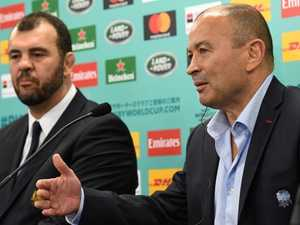 Jones 'on the list' to replace Cheika for Wallabies