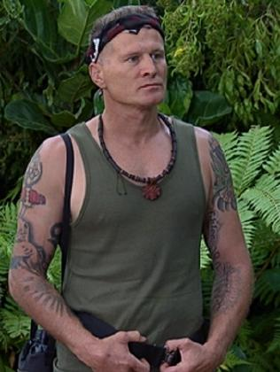 Danny Green in the jungle. Picture: Supplied