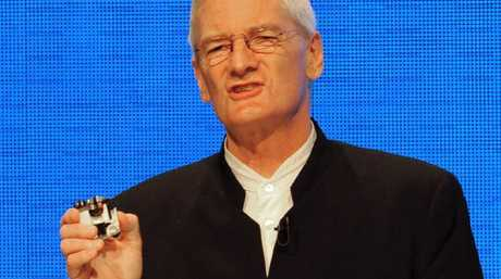 British inventor James Dyson, creator of the Dyson vacuum cleaner. Picture: AFP