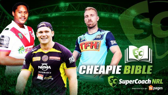 NRL SuperCoach Cheapie Bible 2018.